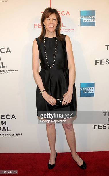 """Tribeca Film Festival co-founder Jane Rosenthal attends the """"Freakonomics"""" premiere during the 9th Annual Tribeca Film Festiva at the Tribeca..."""