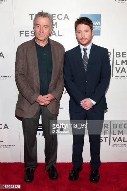 Tribeca Film Festival cofounder Robert De Niro and filmmaker Kevin Connolly attend the screening of Big Shot during the 2013 Tribeca Film Festival at...