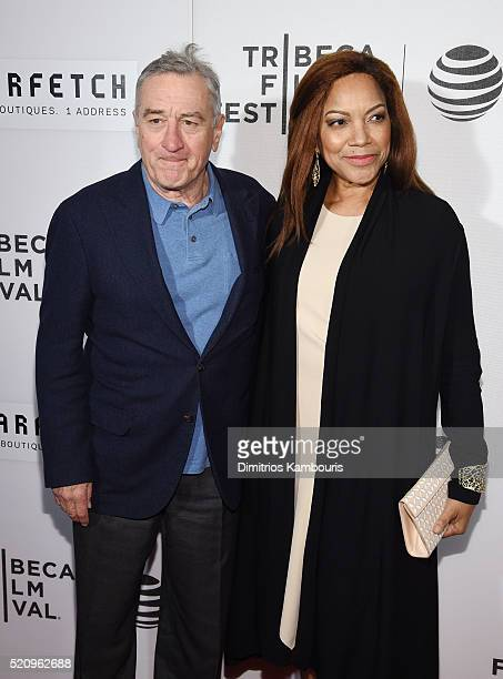 Tribeca Film Festival Cofounder Robert De Niro and Grace Hightower attend the First Monday In May world premiere during the 2016 Tribeca Film...