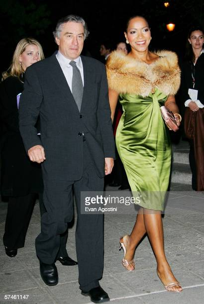 Tribeca Film Festival cofounder Robert De Niro and wife Grace Hightower attend the Vanity Fair Tribeca Film Festival Party at The State Supreme...