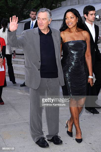 Tribeca Film Festival cofounder Robert De Niro and wife Grace Hightower attend the Vanity Fair Party during the 9th Annual Tribeca Film Festival at...