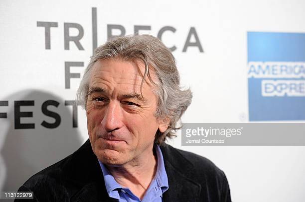Tribeca Film Festival Cofounder Robert De Niro attends the premiere of Jesus Henry Christ during the 2011 Tribeca Film Festival at BMCC Tribeca PAC...