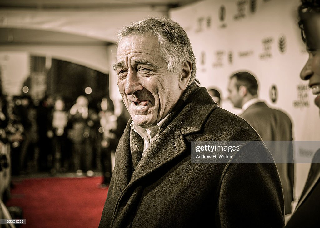 Tribeca Film Festival Co-founder Robert De Niro attends the 'Time Is Illmatic' Opening Night Premiere during the 2014 Tribeca Film Festival at The Beacon Theatre on April 16, 2014 in New York City.