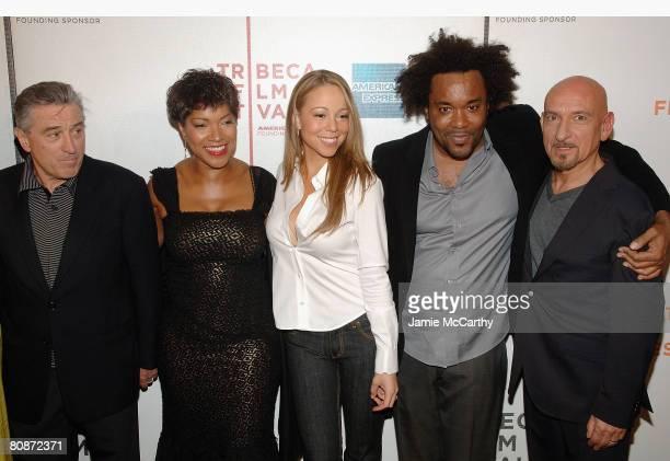 Tribeca Film Festival cofounder Robert De Niro Grace Hightower singer/actress Mariah Carey director Lee Daniels and Actor Sir Ben Kingsley attend the...