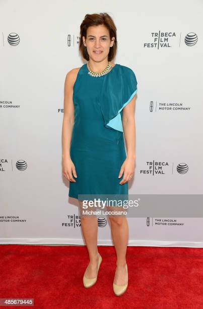 Tribeca Film Festival Director of Programming Genna Terranova attends the 5 To 7 Premiere during the 2014 Tribeca Film Festival at the SVA Theater on...