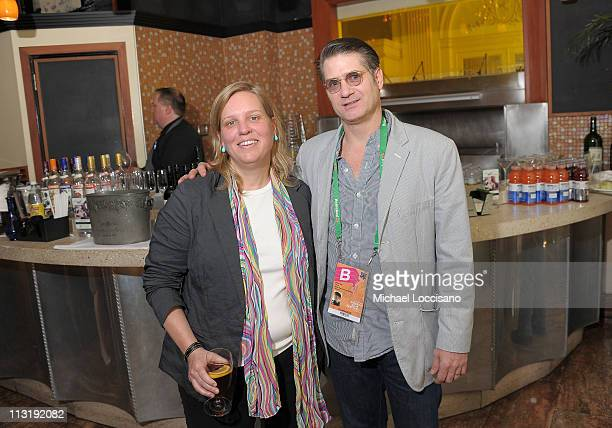 26 Tribeca Film Festival Executive Director Nancy Schafer and Director Whitney Dow attend Director's Brunch at The 2011 Tribeca Film Festival at City...