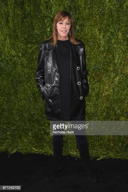 Tribeca Film Festival founder Jane Rosenthal attends CHANEL Tribeca Film Festival Women's Filmmaker Luncheon at The Odeon on April 21 2017 in New...