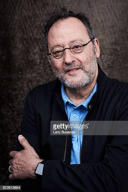 Tribeca Film Festival Juror Jean Reno poses at the Tribeca Film Festival Getty Images Studio on April 19 2016 in New York City
