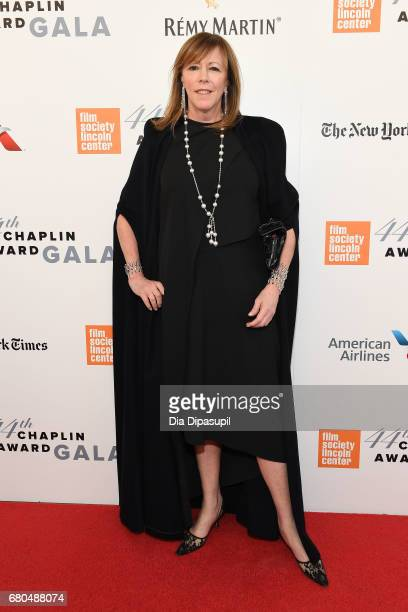 TriBeCa Film Institute cofounder Jane Rosenthal attends the 44th Chaplin Award Gala at David H Koch Theater at Lincoln Center on May 8 2017 in New...