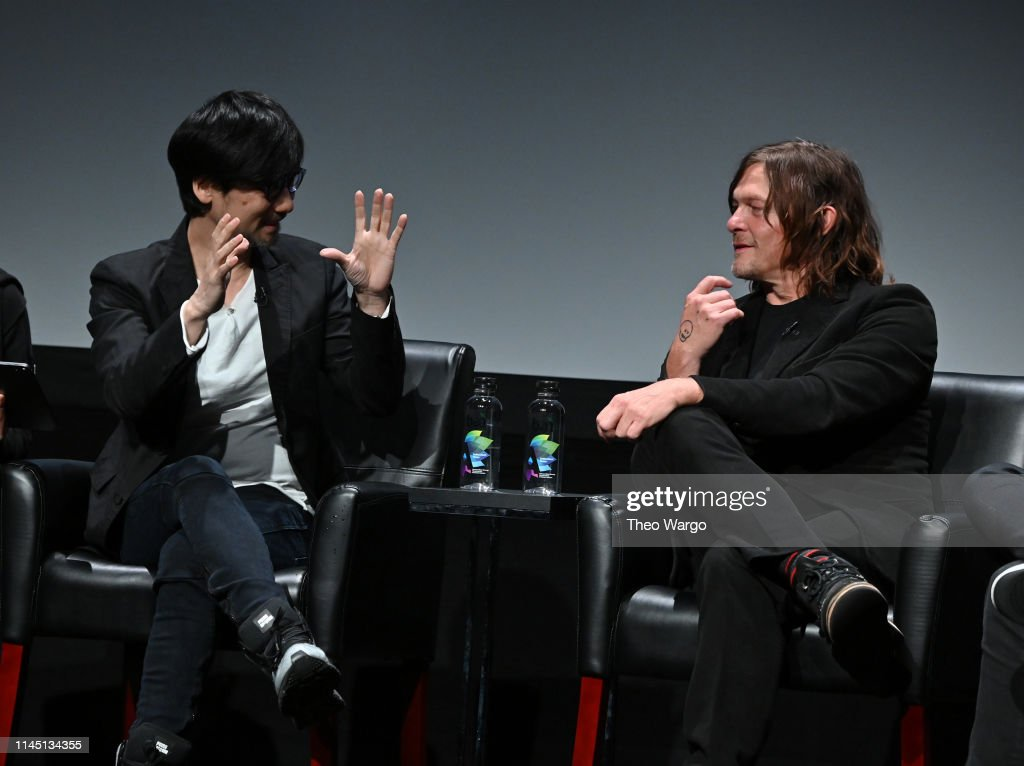 NY: Tribeca Talks: Tribeca Games Presents: Hideo Kojima With Norman Reedus - 2019 Tribeca Film Festival