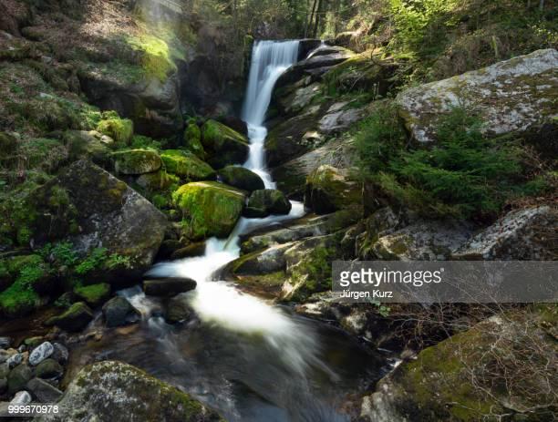 triberger waterfalls - riachuelo fotografías e imágenes de stock