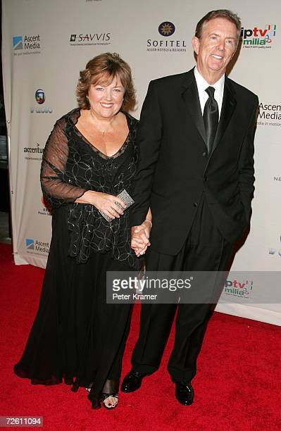 Tribune Entertainment CEO Dick Askin and and his wife Kay attend the 34th International Emmy Awards Gala at the New York Hilton on November 20 2006...