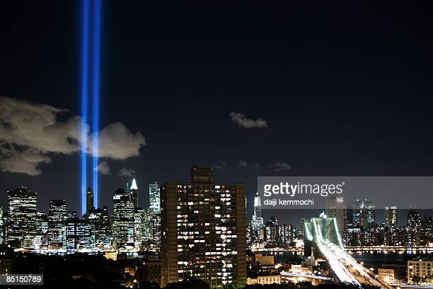 tribute in light 2006 - world trade center memorial stock pictures, royalty-free photos & images