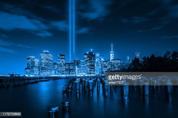tribute in light - memorial event stock pictures, royalty-free photos & images