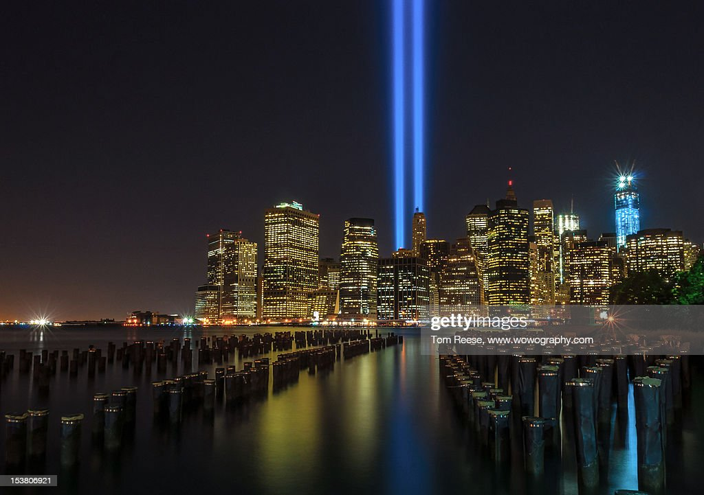 Tribute in Lights : Stock Photo