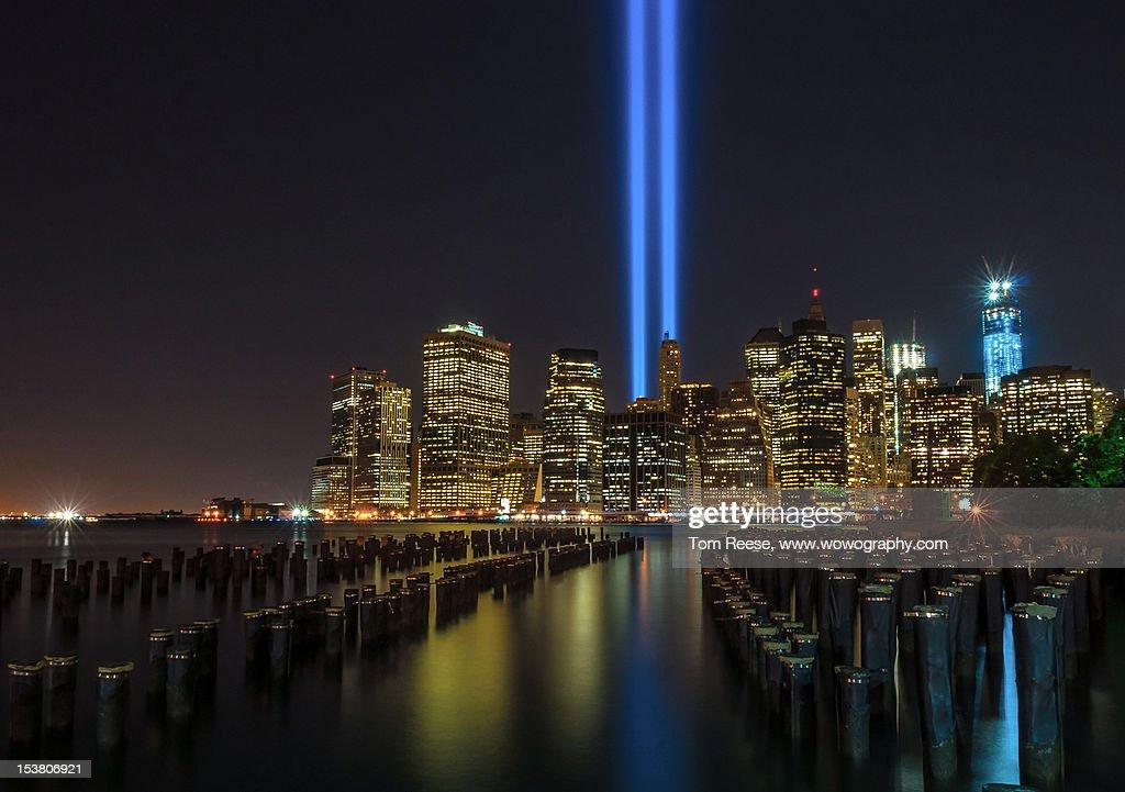 Tribute in Lights : Stock-Foto