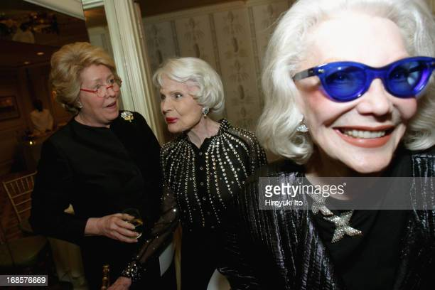 Tribute to Bobby Short a cocktail party at the Carlyle Hotel on Tuesday night May 3 2005This imageFrom left Lisa Schiff Jean Bach and Anne Slater