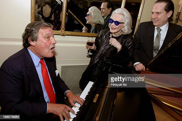 Tribute to Bobby Short a cocktail party at the Carlyle Hotel on Tuesday night May 3 2005This imageFrom left Peter Duchin Anne Slater and John Cahill