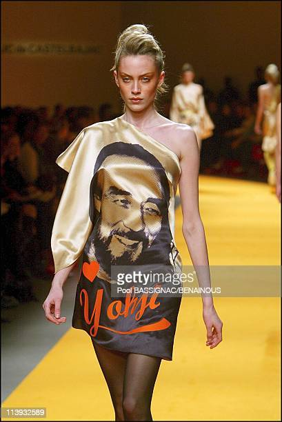 Tribute to Fashion Designers : Jean Charles de Castelbajac, Fall-Winter 2004-2005 ready-to-wear Fashion Show in Paris, France On March 07,...