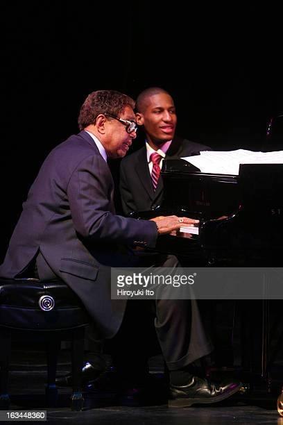 """Tribute to Jazz Legends"""" at the Juilliard School on Tuesday night, February 27, 2007.This image:Billy Taylor."""