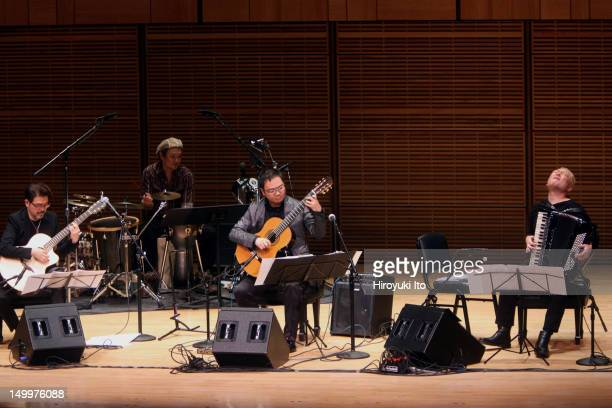 'A Tribute to Toru Takemitsu' part of JapanNYC festival at Zankel Hall on Friday night December 17 2010The concert is curated by Toru's daughter Maki...