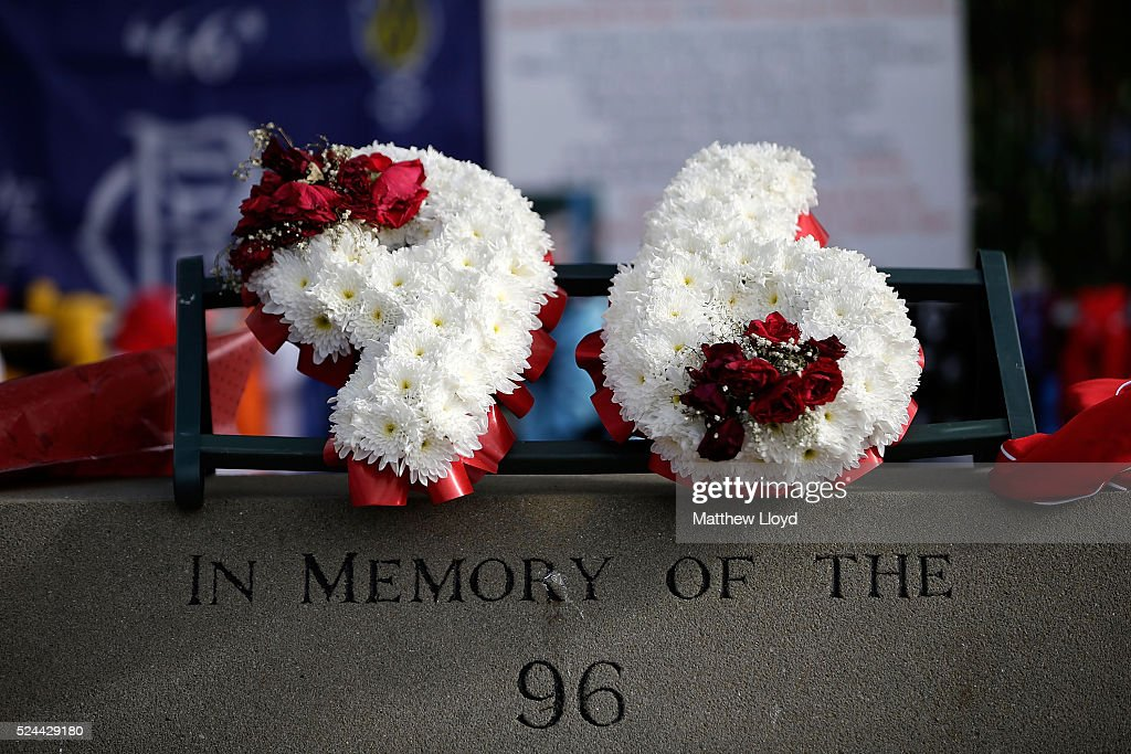 Conclusions Are Reached On All 96 Deaths At The Hillsborough Inquest : Nachrichtenfoto