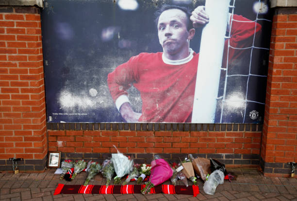 GBR: Tributes Are Left To England World Cup Hero Nobby Stiles
