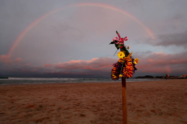 AUS: Tributes at Palm Beach for Alex Chumpy Pullin