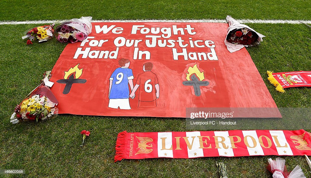 Hillsborough Anniversary Memorial Service : News Photo