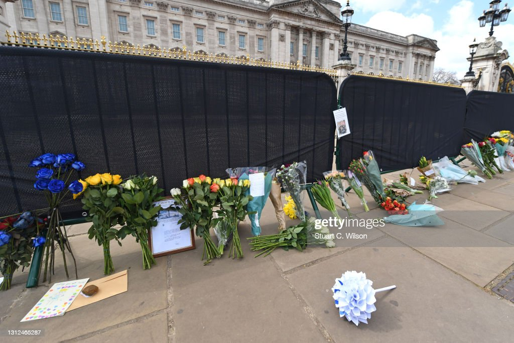 Britain Continues Period Of National Mourning Following The Death Of Prince Philip, Duke Of Edinburgh : News Photo