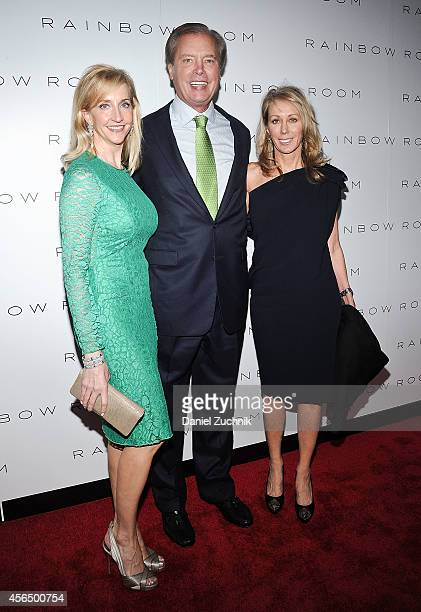 Tricia Dewhurst Lieutenant Governor of Texas David Dewhurst and Nancy Brazzil attend the Rainbow Room Grand Reopening at The Rainbow Room on October...