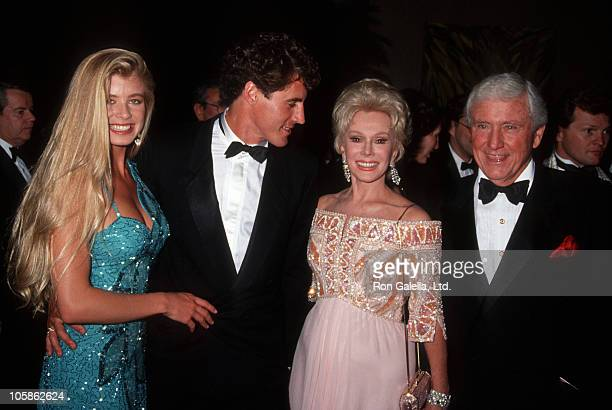 Tricia Gist Tony Griffin Eva Gabor and Merv Griffin