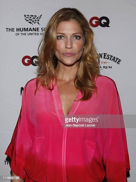Tricia Helfer arrives at NSF, The Humane Society Of The U.S. And GQ Magazine Benefit to stop puppy mills on September 22, 2009 in Los Angeles,...