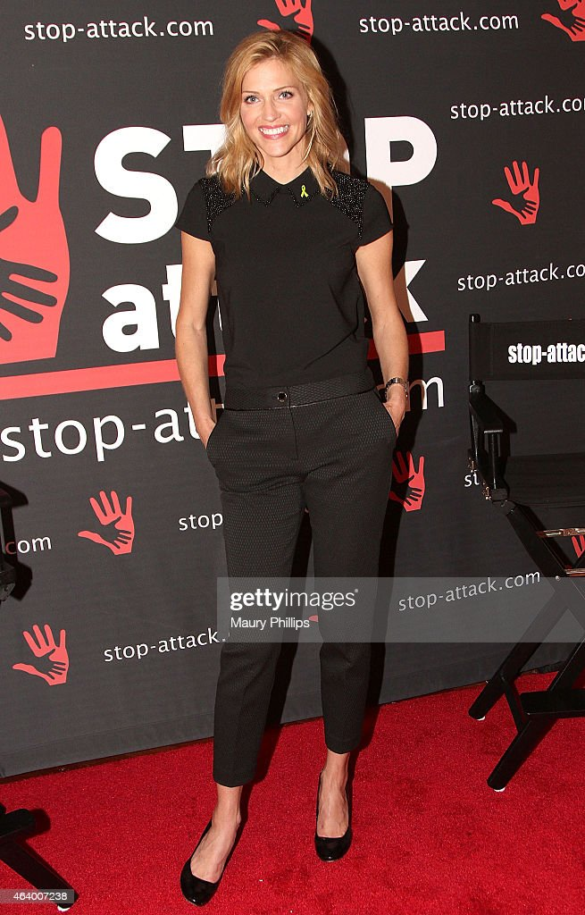 Tricia Helfer attends GBK 2015 Pre-Oscar Awards luxury gift lounge on February 20, 2015 in Los Angeles, California.