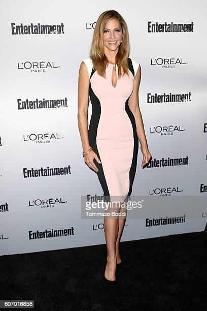 Tricia Helfer attends the Entertainment Weekly's 2016 PreEmmy Party held at Nightingale Plaza on September 16 2016 in Los Angeles California