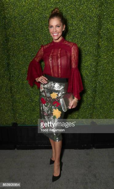 Tricia Helfer attends the FOX Fall Party at Catch LA on September 25 2017 in West Hollywood California
