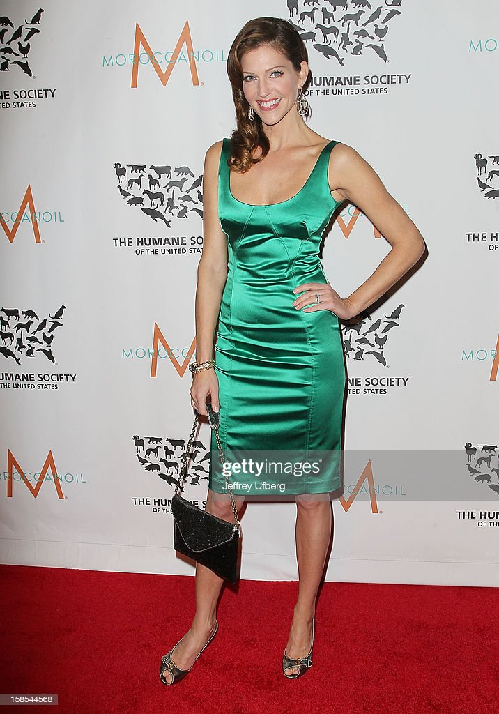Tricia Helfer attends The Humane Society of the United States presents To The Rescue! gala benefiting post hurricane Sandy efforts at Cipriani 42nd Street on December 18, 2012 in New York City.