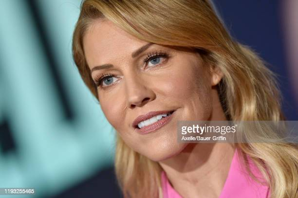 Tricia Helfer attends the special screening of Liongate's Bombshell at Regency Village Theatre on December 10 2019 in Westwood California