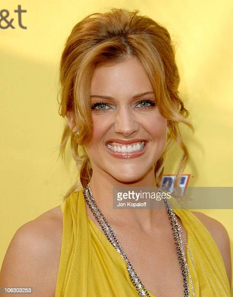 Tricia Helfer during First Annual Spike TV's Guys Choice Arrivals at Radford Studios in Studio City California United States