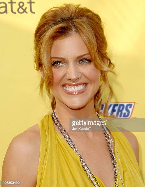 Tricia Helfer during First Annual Spike TV's Guys Choice - Arrivals at Radford Studios in Studio City, California, United States.