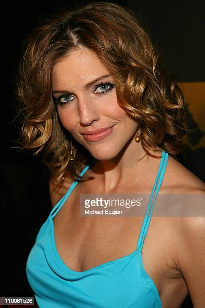 Tricia Helfer during Tricia Helfer of Battlestar Galcatica Party to Celebrate the Release of the February Issue of Playboy at Les Deux in Los...