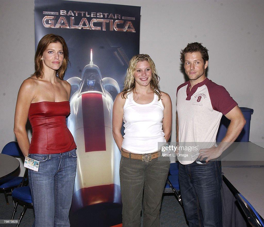2003 San Diego Comic Con International - Day Two : Nachrichtenfoto