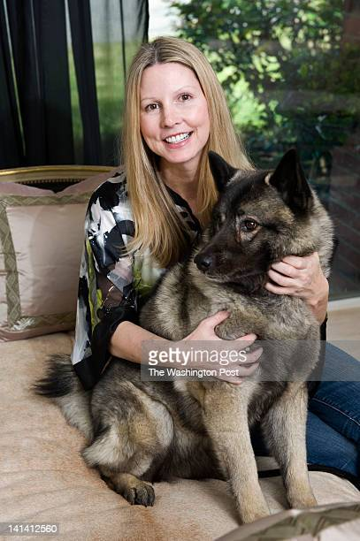 Tricia Huntley an interior designer purchased her first home with a little help from her Norwegian elkhound Nina