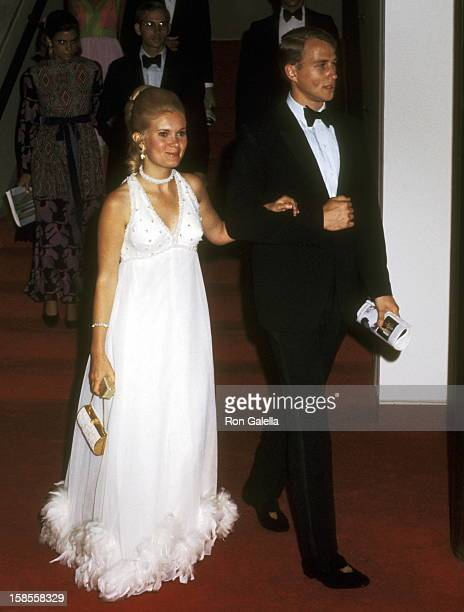 Tricia Nixon and husband Edward Cox attend the Grand Opening Gala Celebration of The John F Kennedy Center for the Performing Arts with a special...