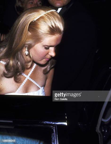 Tricia Nixon attends the 50th Anniversary Gala Celebration of the Women's National Press Club on July 8 1970 at The Shoreham Hotel in Washington DC