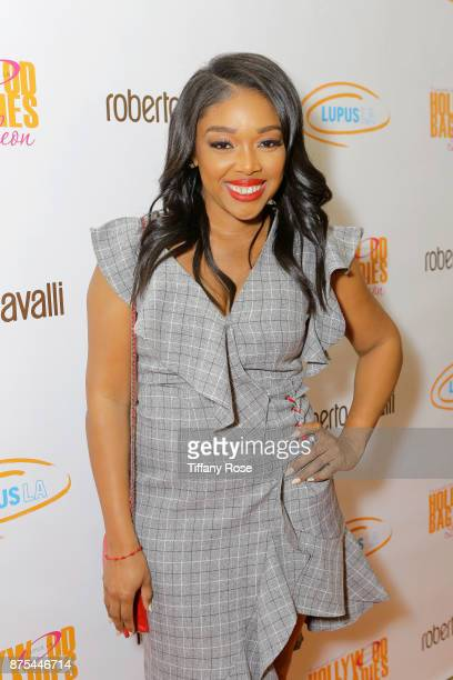 Tricia Smith Brown at Lupus LA's Hollywood Bag Ladies Luncheon at The Beverly Hilton Hotel on November 17 2017 in Beverly Hills California