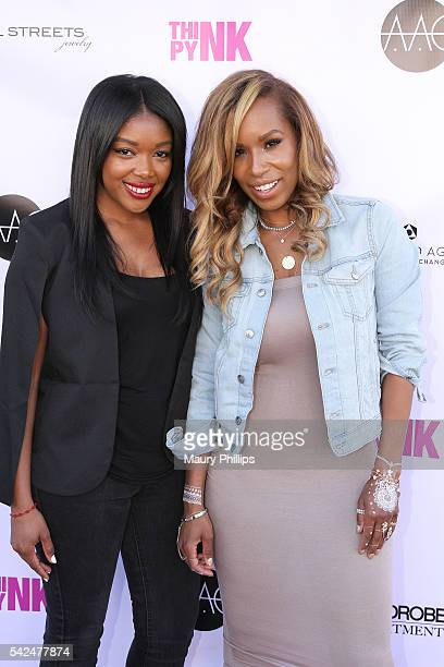 Tricia SmithBrown and celebrity Jeweler Crystal Streets attend Think Pynk Magazine and Crystal Streets Jewelry Pop Up hosted by Wardrobe Department...