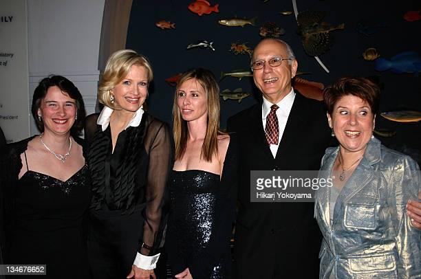 Tricia Thornton Diane Sawyer Carole Radziwill Gary Tomei and Addie Tomei