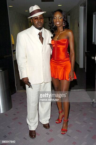 Trick Daddy and attend 2005 MTV Video Music Awards at American Airlines Arena on August 28 2005 in Miami FL