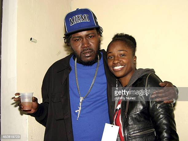Trick Daddy and Coreographer during Joint Chief's Concert at The Apollo November 23 2004 at Apollo in New York New York United States